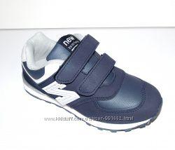 Кроссовки детские темно синие с серым New Balance  32-35
