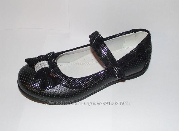 Красивые туфли для девочек 27р