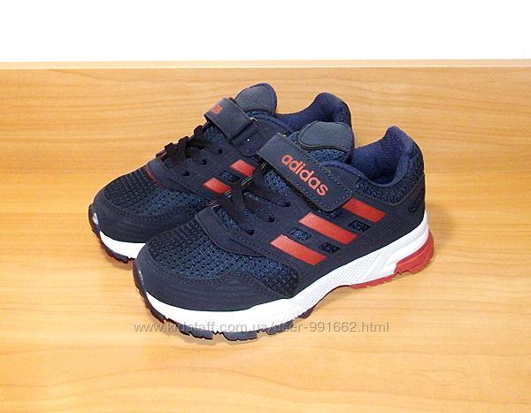 Кроссовки качественные для мальчика синие  Adidas Турция 32-34