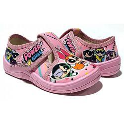 Тапочки WALDI для девочки розовые 24-30