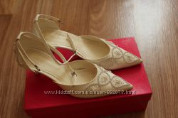 Туфли свадебные 36 размер, цвет слоновая кость