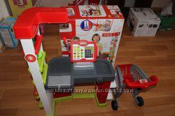 Детский супермаркет с электронной кассой Smoby