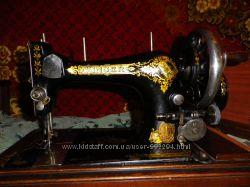 Швейная  машинка Singer антиквариат Голландия  1906г