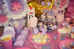 Оформление Дня Рождения Принцесса София