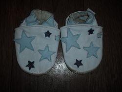 Кожаные чешки для малышей