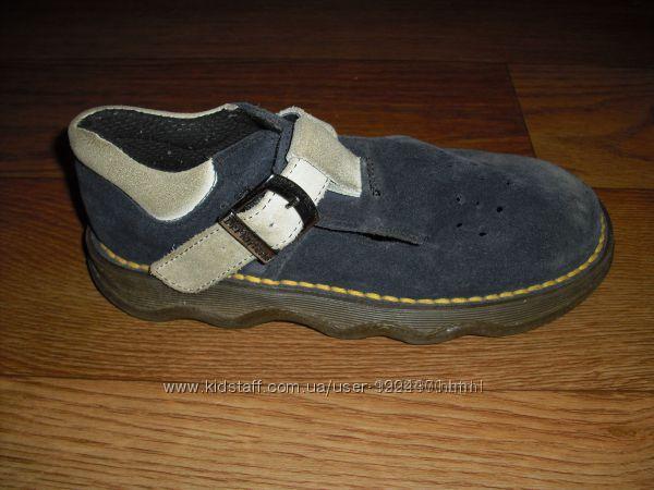 Замшевые туфли Dr. Martens р. 32 стелька 21 см