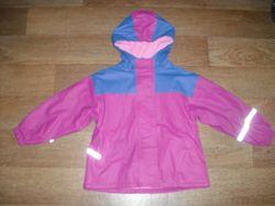 Прорезиненная куртка-дождевик р. 110-116 и р.116-122