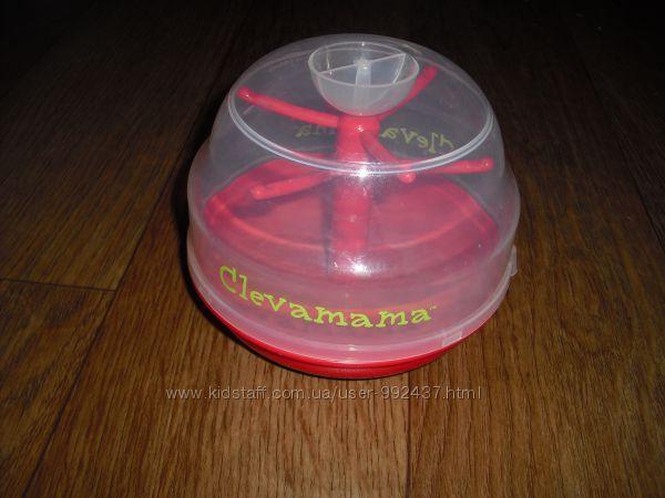 Стерилизатор для пустышек CLEVAMAMA в микроволновке