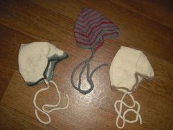 Шерстяные шапочки для малышей