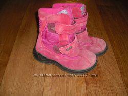 Демисезонные замшевые ботинки Naturino р. 30