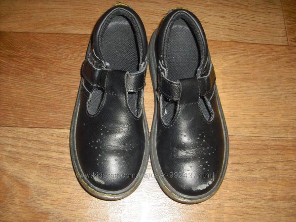 Детские кожаны туфли Dr. Martens р. 29