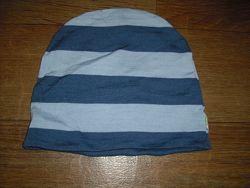Двухслойная шерстяная шапочка Joha на возраст 4-9 мес. и 3-5 лет