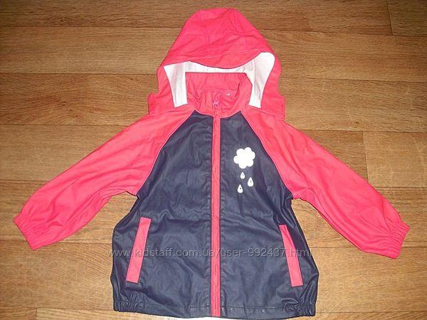 Прорезиненная куртка - дождевик Palomino р. 104