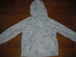 Куртка - дождевик для девочки  на 4-5-6 лет