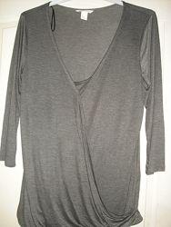 Тонкая блуза для кормящих H&M размер L
