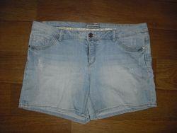 Женские джинсовые шорты размер L