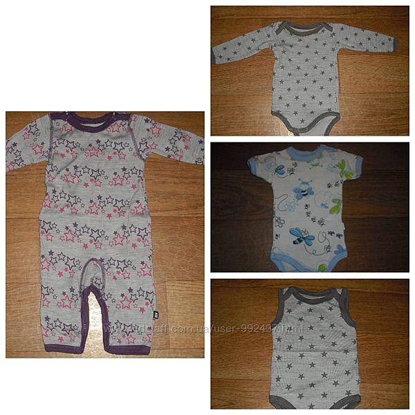 Термобелье шерсть для новорожденных р. 56-62-68