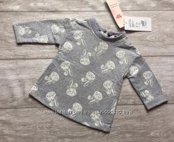 Стильная нарядная кофточка свитшот 3-6 месяцев Gloria Jeans