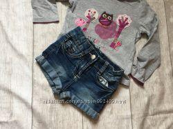 Джинсовые шорты на девочку 2  - 4 года
