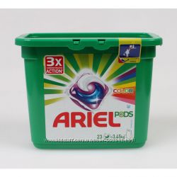 Капсулы для цветного и белого белья ARIEL, 23, 30 шт, Германия