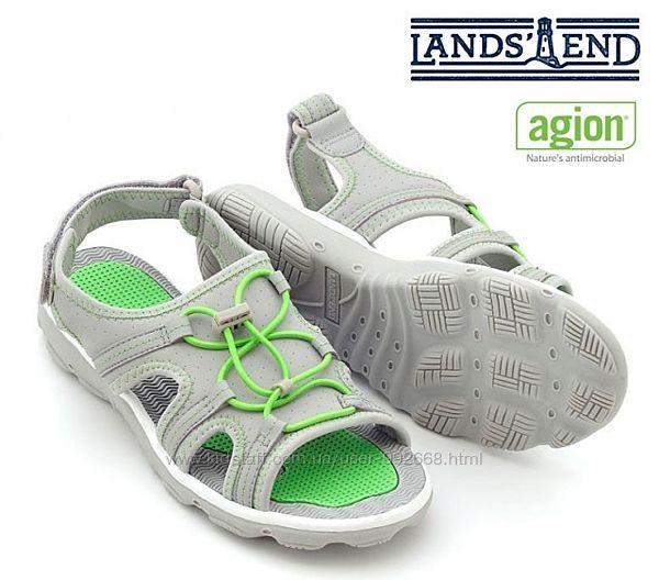 Босон. спорт. сандал. антибактер. , бренд LandsEnd  37-38 24.5см-стелька