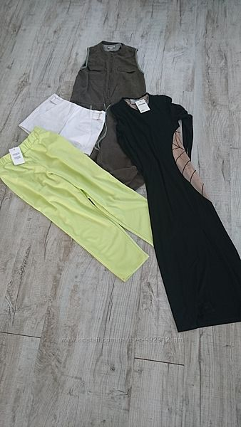 4 вещи - новые штаны и платье Asos, комбинезон и шорты