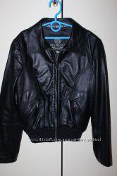 Натуральная кожаная куртка Manebo р. 42 S Италия