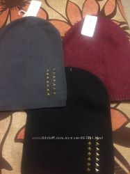 Тепла шапка з ангорою на зиму фірми accessoires C&A
