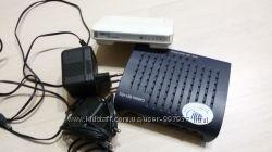 ADSL Modem Callisto 821R3  и  Asus GX1005B