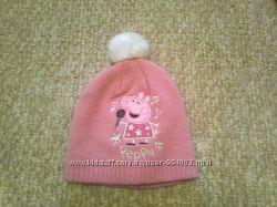 Демисезонные шапочки на девочку