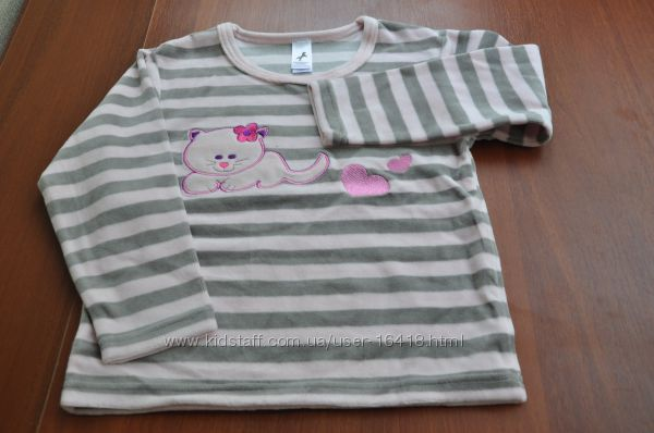Пижамы новые хлопок, велюр Palomino Cunda Mothercare