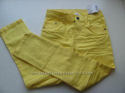 Новые джинсы-вельветы-капри
