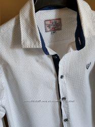 Продам нарядную белую рубашку р158
