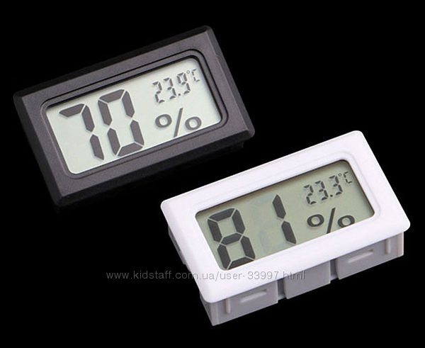 Гигрометр  термометр влагомер градусник цифровой электронный