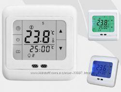 Терморегулятор для теплого пола cенсорный недельный программируемый