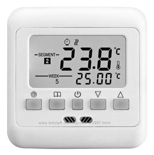 Программируемый терморегулятор термостат для теплого пола Flureon C-08