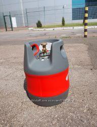 баллон пропан пропановый композитный 12, 7л HPC Чехия взрывобезопасный