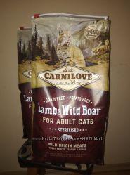 Carnilove Cat Lamb & WildBoar Sterilised