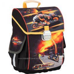Ранец школьный ортопедический каркасный ТМ Kite Speed racing K17-503S-1