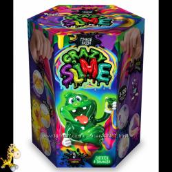 Набор для творчества Ручной лизун Сделай слайм Crazy Slime SLM-01-01