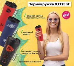 Термокружка Kite арт. K19-304 и K19-303, емкость 410 мл и 440 мл