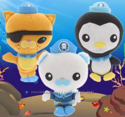 Октонавты мягкие игрушки. 3 вида