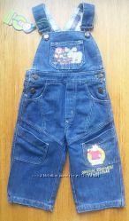Полукомбез джинс Одягайко 86-92 размер