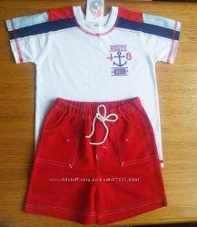Комлект футболка-шорты 110р Garden Baby 2 шт в наличии