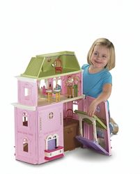 Fisher-Price Loving Family Grand Dollhouse Большой дом с мебелью и куклами