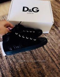 Новые оригинальные ботинки D&G