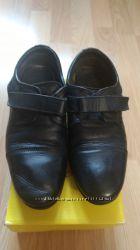 Кожаные демисезонные туфли на мальчика