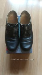 Кожаные туфли школьные Левус