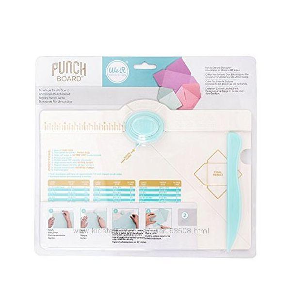 Доска для создания конвертов We R Memory Keepers Envelope Punch Board.