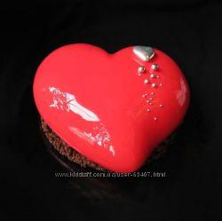 торторт в виде сердца